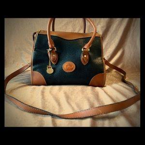Vintage Dooney Bourke Handbag w/ Cross Body Strap